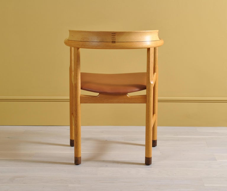 20th Century Original Hans J Wegner PP52 Chairs