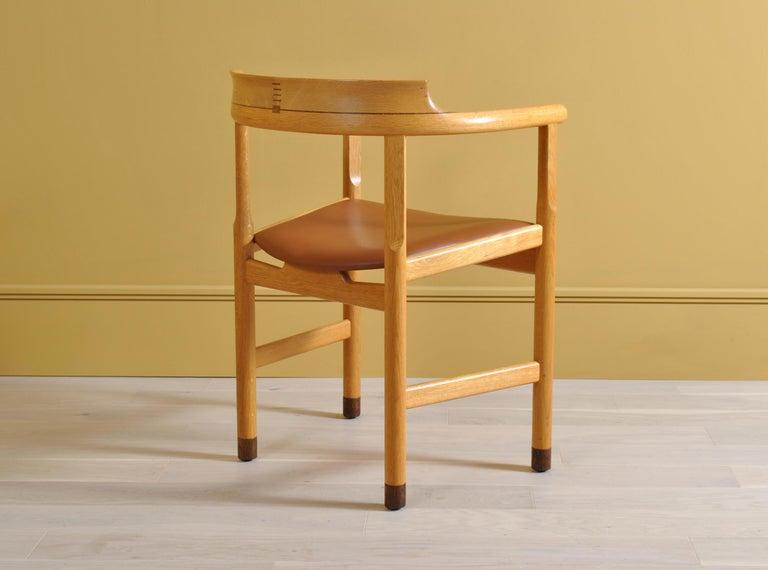Oak Original Hans J Wegner PP52 Chairs