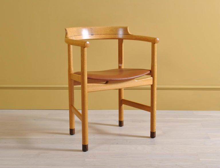 Original Hans J Wegner PP52 Chairs 1