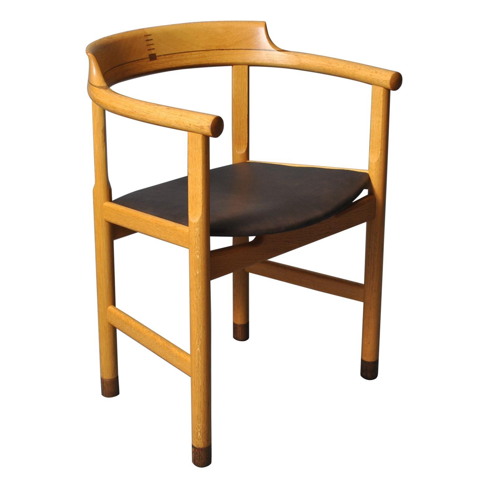 Original Hans J Wegner PP52 Chairs