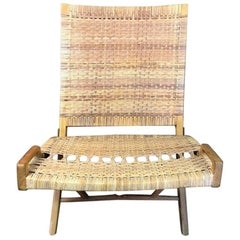 Original Hans Wegner JH-512 Folding Lounge Chair