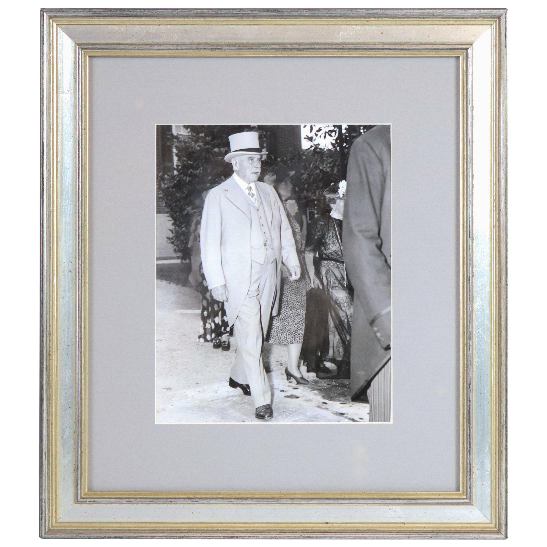 Original Historic Press Photograph of JP Morgan, Jr.
