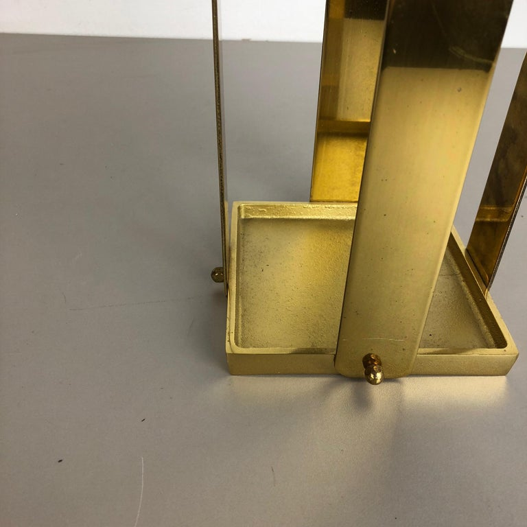 Original Hollywood Regency Solid Brass Umbrella Stand, Italy, 1970s No. 2 In Good Condition For Sale In Kirchlengern, DE