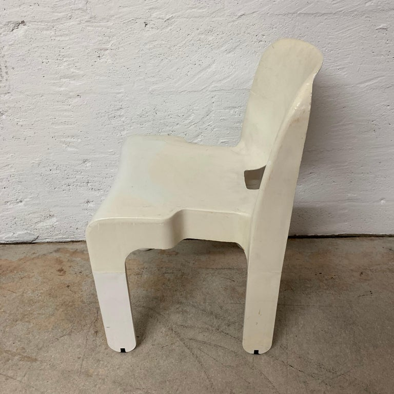 Italian Original Joe Colombo Universale Chair by Beylerian LTD for Kartell, Italy, 1960s For Sale