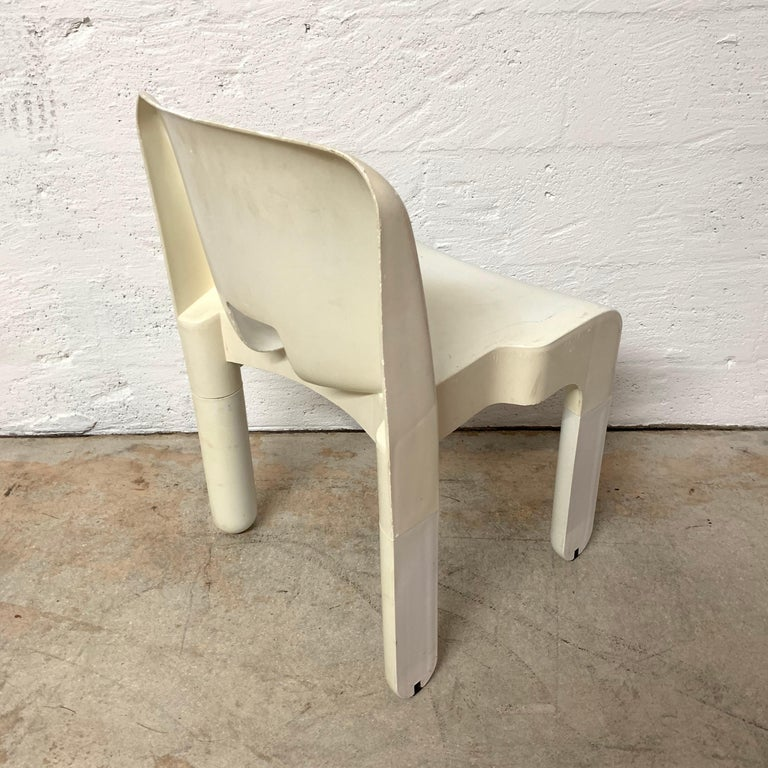 20th Century Original Joe Colombo Universale Chair by Beylerian LTD for Kartell, Italy, 1960s For Sale