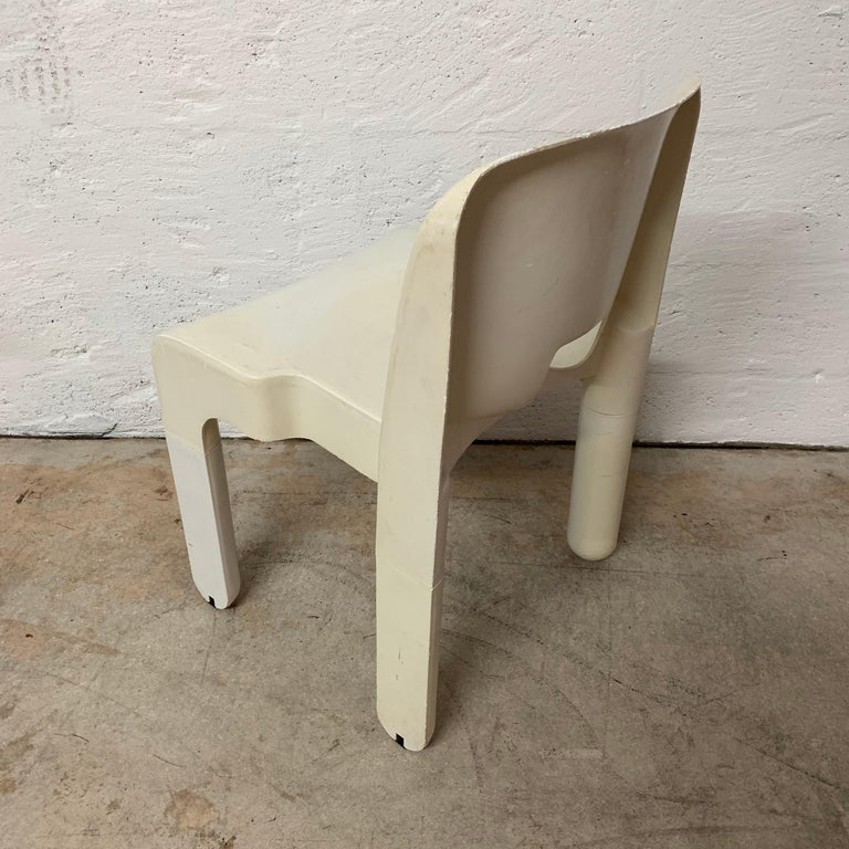 Plastic Original Joe Colombo Universale Chair by Beylerian LTD for Kartell, Italy, 1960s For Sale