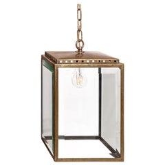 Original Josef Hoffmann Attributed Lantern Wiener Werkstaetten Style, Jugendstil