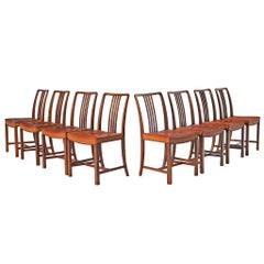 Original Jørgen Christensen Cognac Leather Chairs