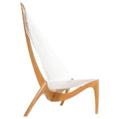 "Original Jørgen Høvelskov ""Harp"" Chair for Christensen & Larsen"