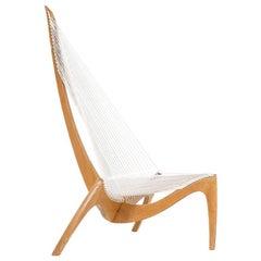 """Original Jørgen Høvelskov """"Harp"""" Chair for Christensen & Larsen"""