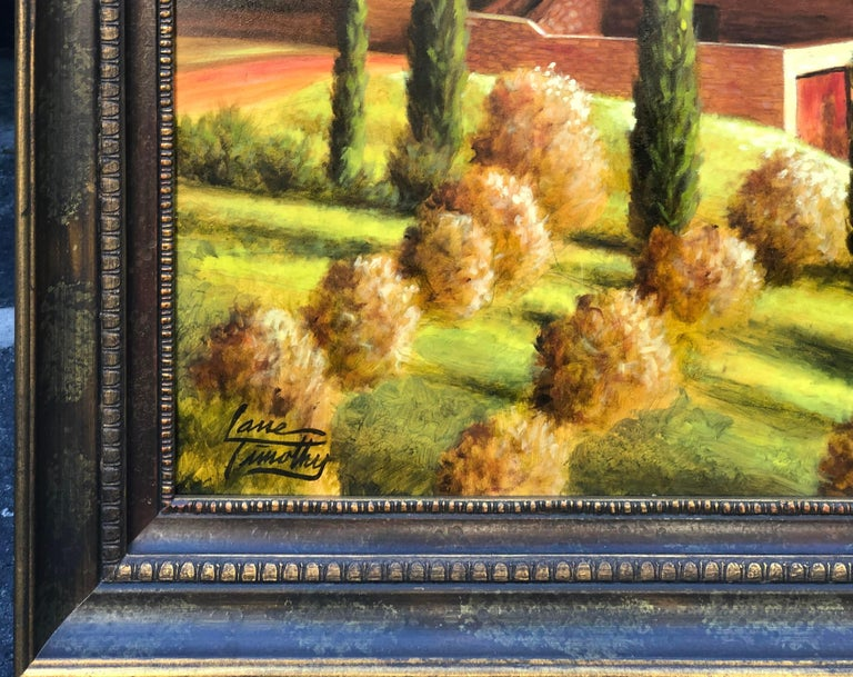 Modern Original Lane Timothy Landscape Oil Painting Entitled