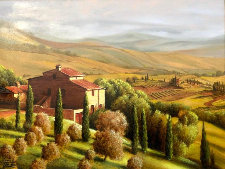 North American Original Lane Timothy Landscape Oil Painting Entitled