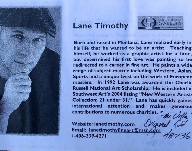 Original Lane Timothy Landscape Oil Painting Entitled