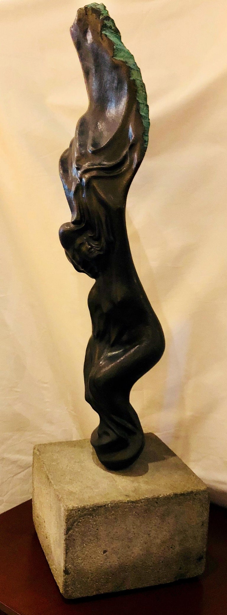 Other Original Large Dramatic Bronze Kinetic Sculpture