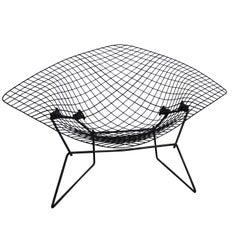 Original Large Mid-Century Modern Harry Bertoia Diamond Chair for Knoll