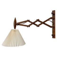 Original Rosewood Le Klint Scissor Wall Lamp