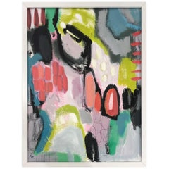 Original Lee Hafer Acrylic Abstract Painting 4