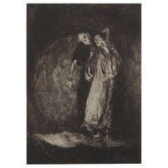 Original Limited Edition Print by Frederick S. Coburn, Premature Burial, 1902