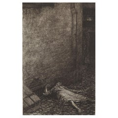 Original Limited Edition Print by Frederick S.Coburn-Murders in Rue Morgue, 1902