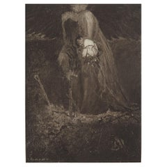 Original Limited Edition Print by Frederick Simpson Coburn- Berenice, 1902