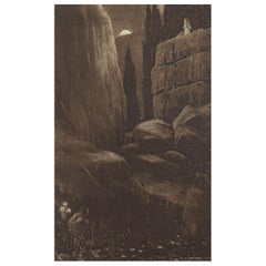 Original Limited Edition Print by Frederick Simpson Coburn- Silence, 1902