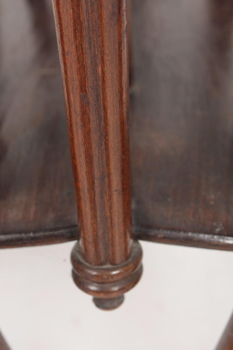 Early 20th Century Original Magazine Rack Designed Thonet, Model No 1 For Sale