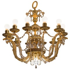 Original Magnificent Chandelier Mid-Century Modern, 1960