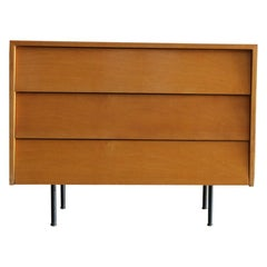 Original Maple Louvered Dresser by Florence Knoll for Knoll