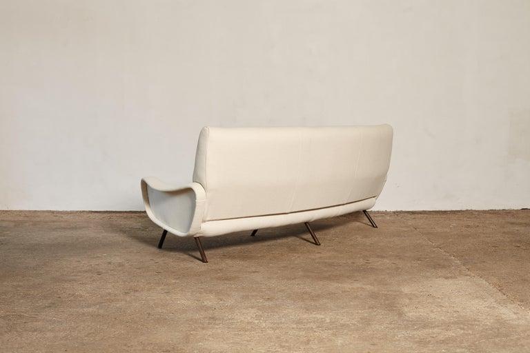Brass Original Marco Zanuso Lady Sofa, Arflex, Italy, 1960s For Sale