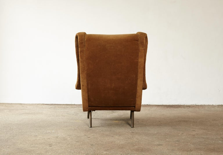 Italian Original Marco Zanuso Senior Chair for Re-Upholstery, Arflex, Italy, 1960s