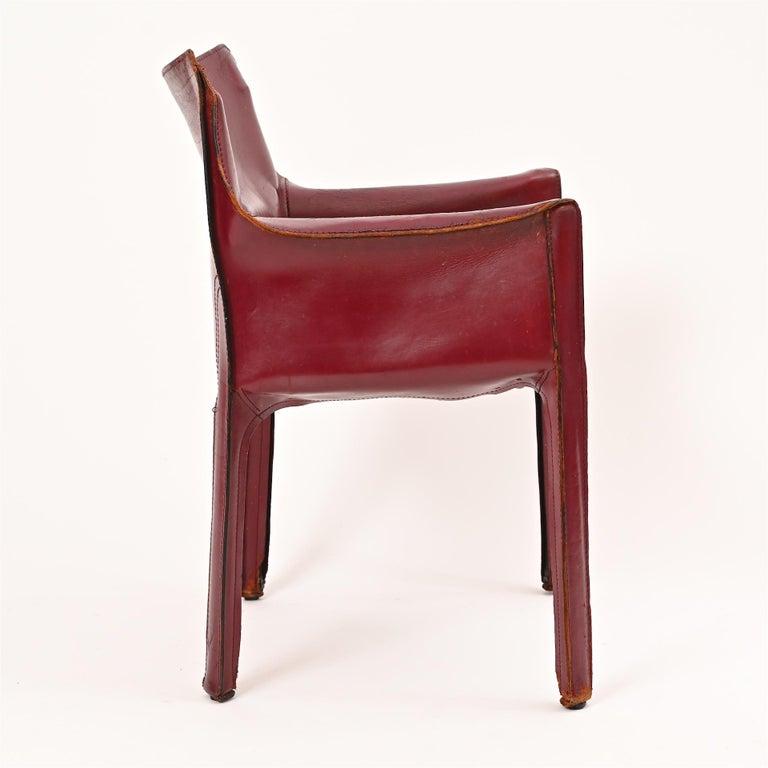 Original Mario Bellini CAB Armchair for Cassina, c1977 For Sale 3