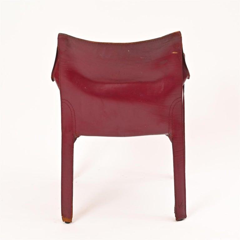Original Mario Bellini CAB Armchair for Cassina, c1977 For Sale 4
