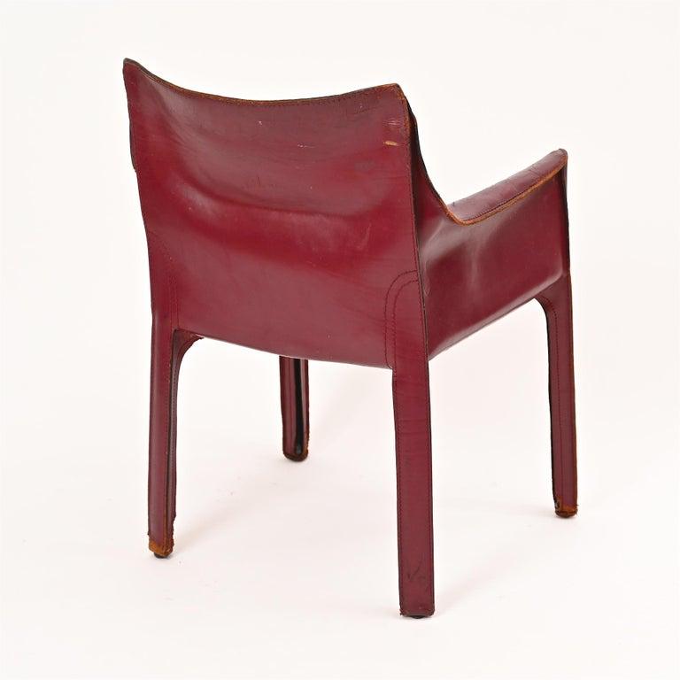 Original Mario Bellini CAB Armchair for Cassina, c1977 For Sale 5