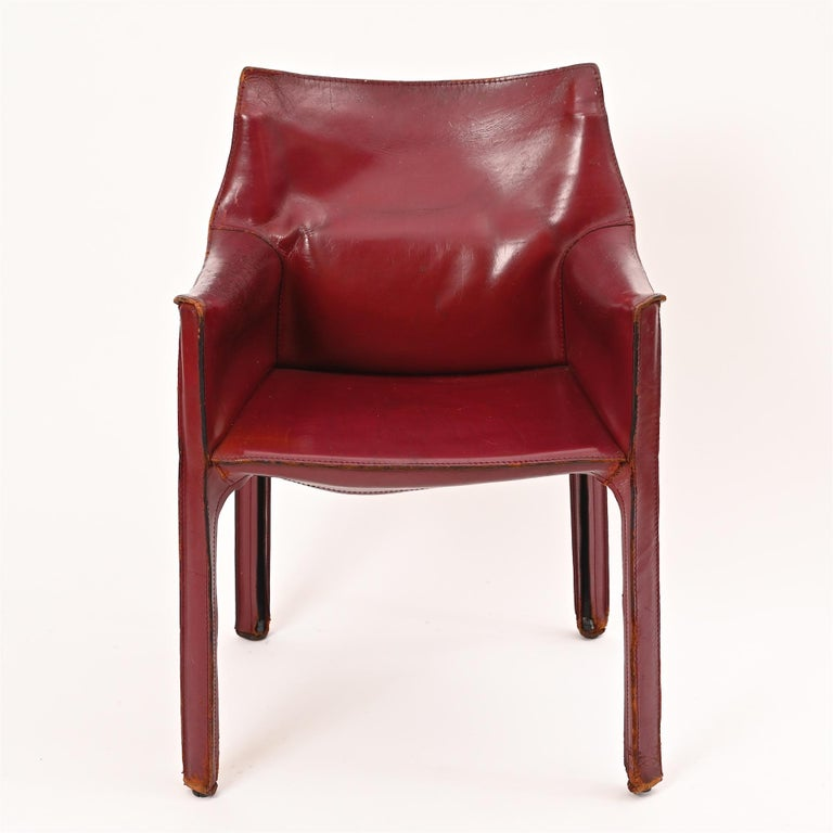 Original Mario Bellini CAB Armchair for Cassina, c1977 For Sale 7