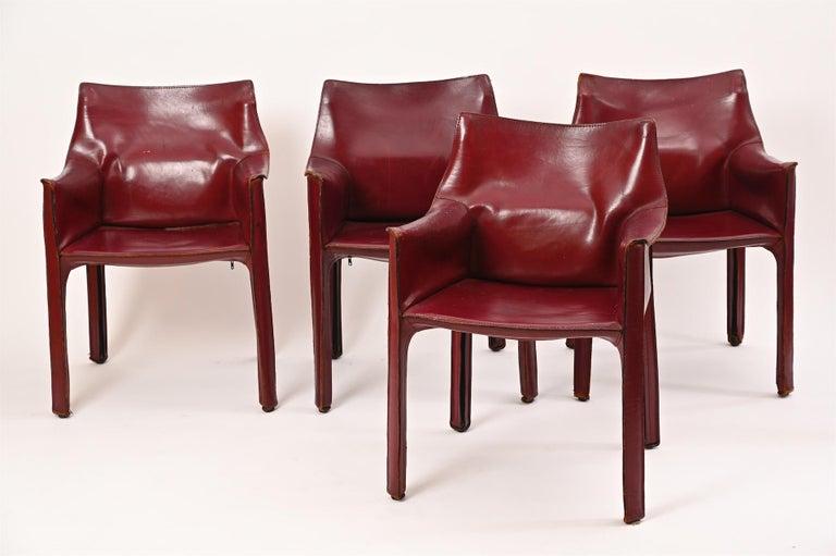 Mid-Century Modern Original Mario Bellini CAB Armchair for Cassina, c1977 For Sale