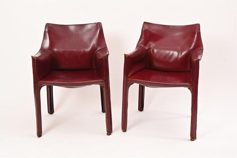 Italian Original Mario Bellini CAB Armchair for Cassina, c1977 For Sale