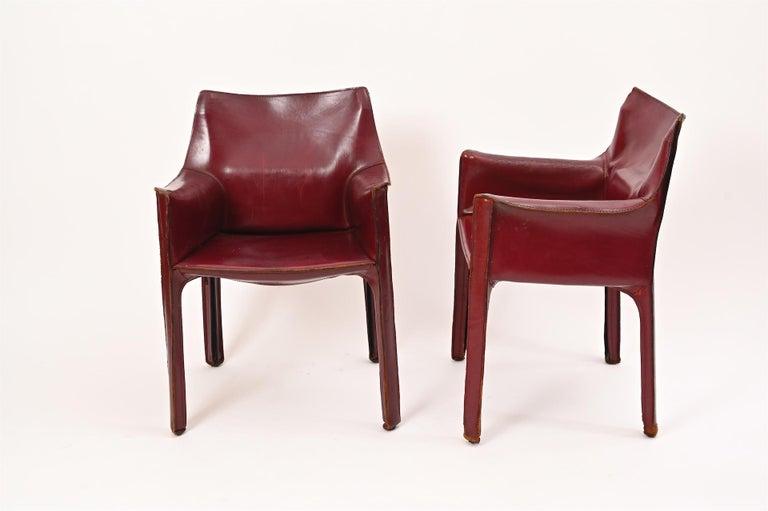 Late 20th Century Original Mario Bellini CAB Armchair for Cassina, c1977 For Sale