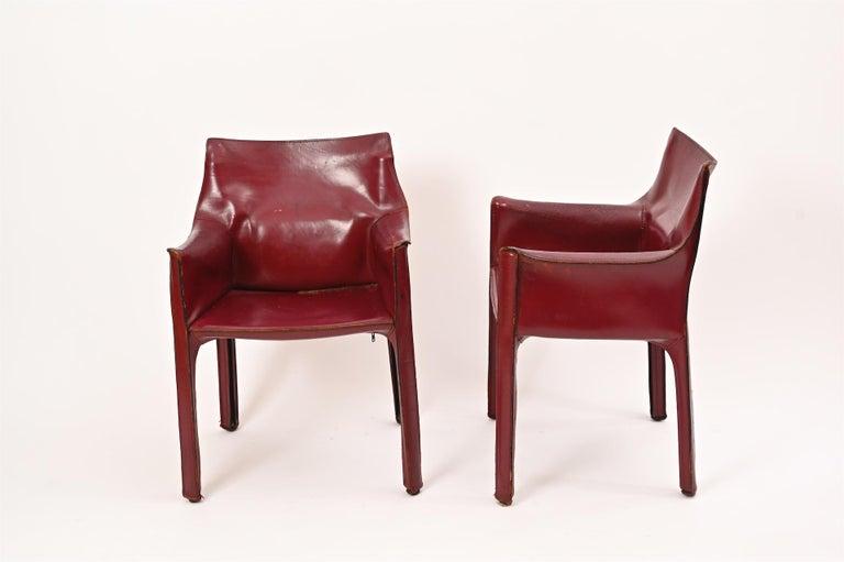 Original Mario Bellini CAB Armchair for Cassina, c1977 For Sale 1