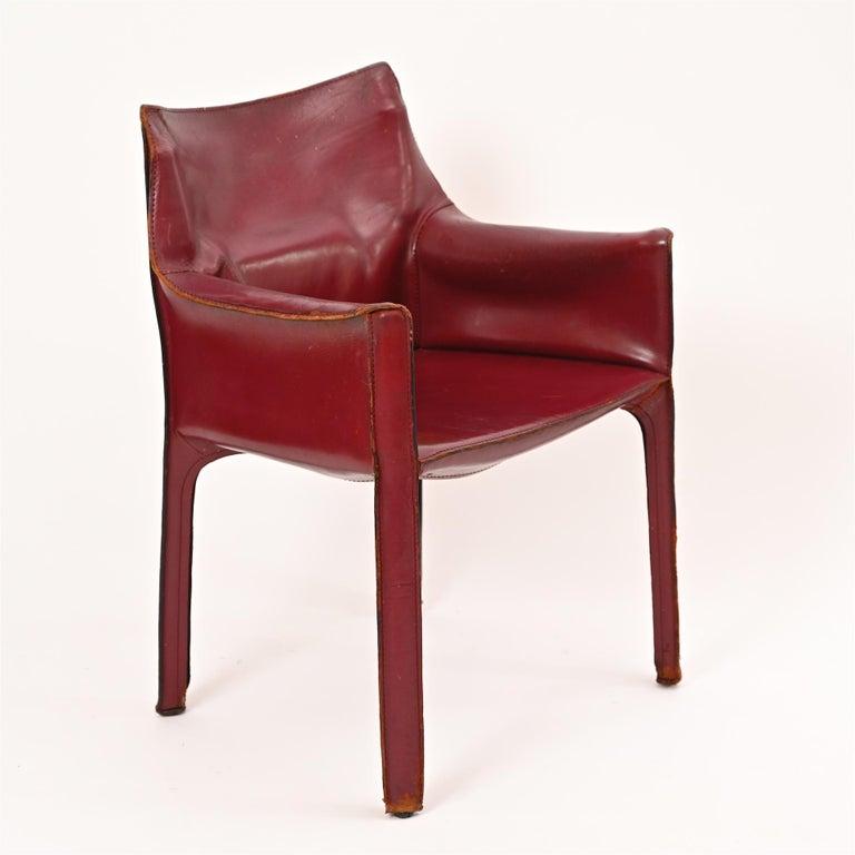 Original Mario Bellini CAB Armchair for Cassina, c1977 For Sale 2
