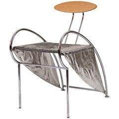 "Original Massimo Iosa Ghini 1987 Italian Design Chair ""Velox"", 20th Century"