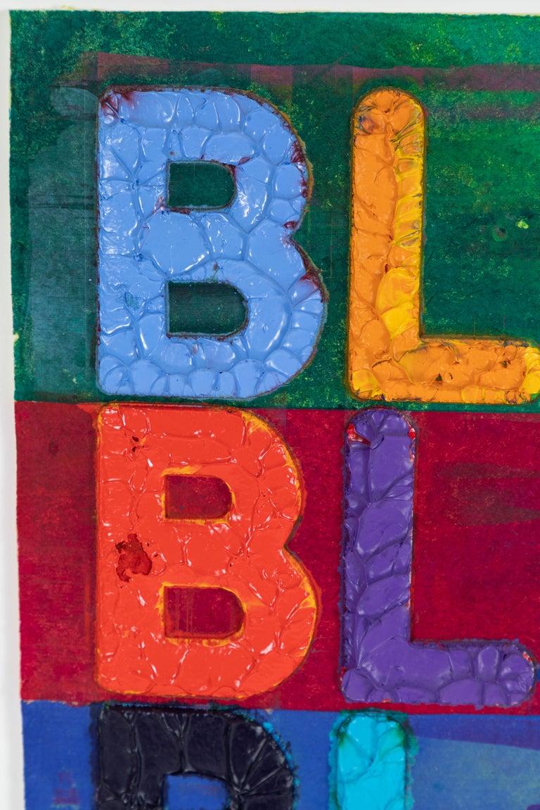 Embossed Original, Mel Bochner Artwork For Sale