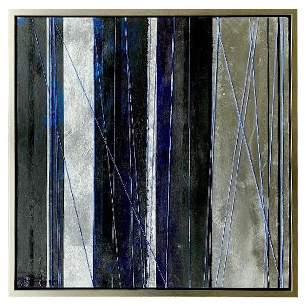 "Original ""Mezzanine"" Modern Abstract Painting by Artist Chanel Verdult"
