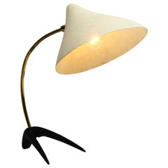 Original Mid Century Crow's Foot Table Lamp by Louis Kalff for Cosack