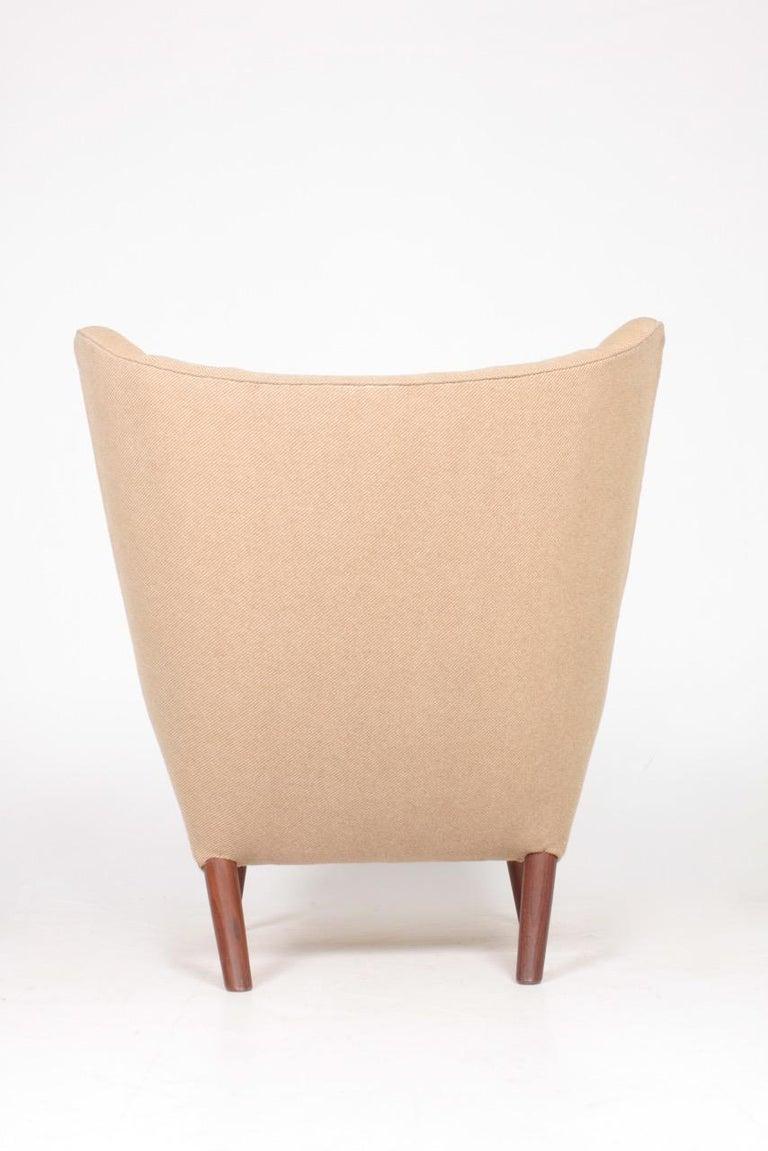 Original Midcentury Papa Bear Chair by Wegner, Danish Design, 1960s For Sale 2