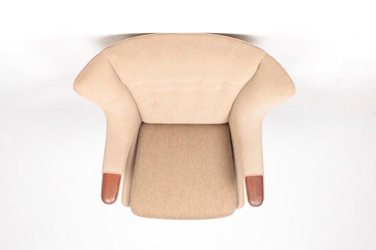 Original Midcentury Papa Bear Chair by Wegner, Danish Design, 1960s For Sale 3
