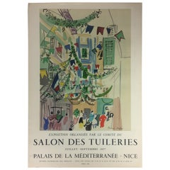 Original Mid Century Raoul Dufy Mourlot Art Poster