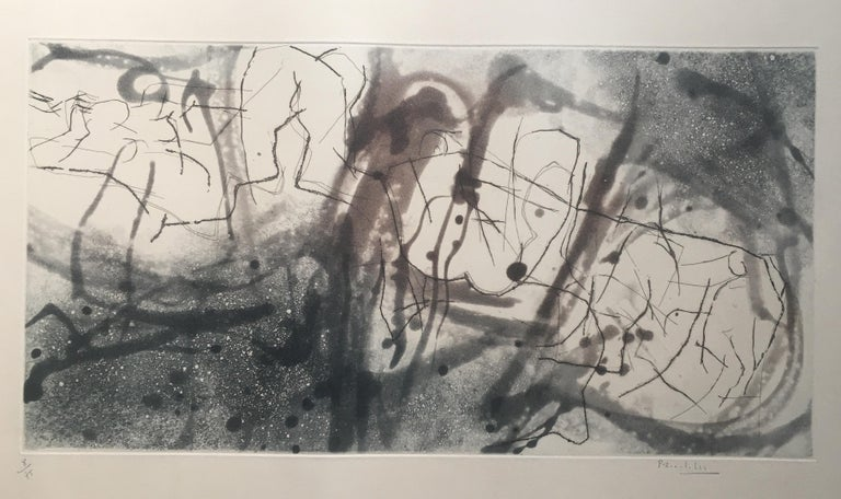 Midcentury Abstract Lithograph in the style of Margaret ... - photo#40