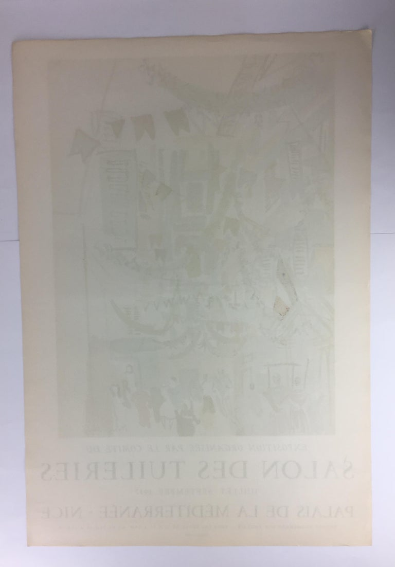 Original Midcentury Raoul Dufy Mourlot Art Poster, circa 1957 For Sale 3