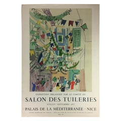 Original Midcentury Raoul Dufy Mourlot Art Poster