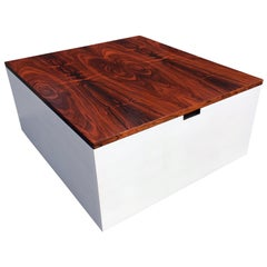 Original Milo Baughman Coffee Table for Thayer Coggin, Rosewood